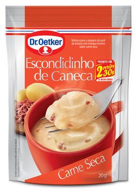 Escondidinho de caneca sabor carne seca Dr. Oetker 20g