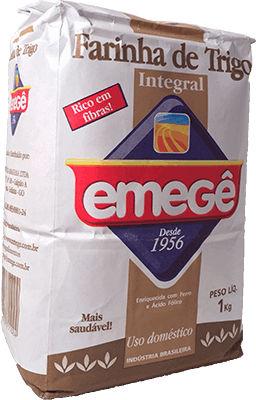 Farinha de trigo integral Emege 1kg