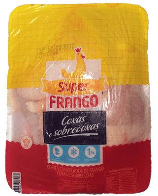 Filé de coxa e sobrecoxa Super frango 1kg