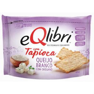 Biscoito tapioca c/ queijo branco e óregano Eqlibri 45g