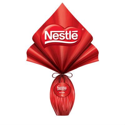 Ovo de Páscoa ao leite Nestlé 185g