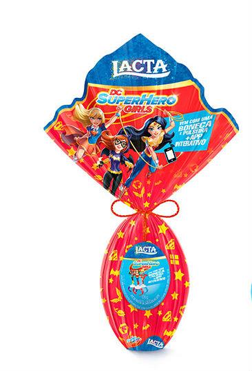 Ovo de Páscoa Super Hero Girls Nestlé 170g