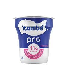 Iogurte sabor morango zero lactose light Pro Itambé 120g