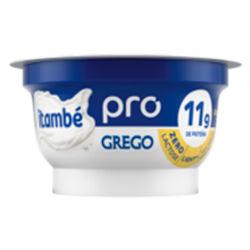 Iogurte light Grego Pro sabor baunilha Itambé 120g