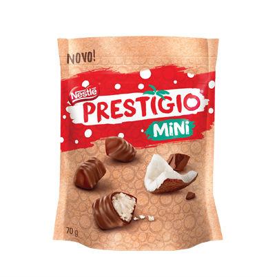 Mini bombons prestígios Nestlé 70g