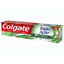 Creme dental tripla ação Xtra Fresh Colagate 70g