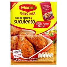 Tempero p/ frango assado c/ tomates e azeite  Maggi 25g