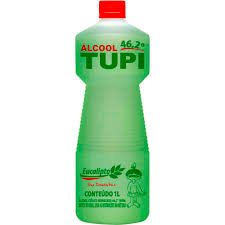 Alcool líquido fragância eucalipto 46gl 1lt