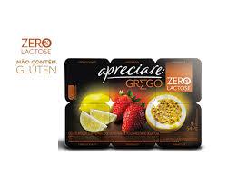 Iogurte integral zero lactose de frutas Apreciare 540g