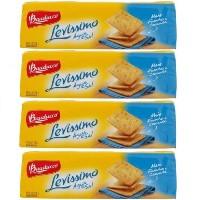 Biscoito água e sal levissimo Bauducco 200g (pacote c/4 unid.)