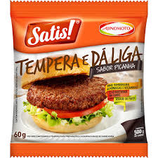 Tempero p/ almondega sabor picanha Satis Ajinomoto 60g