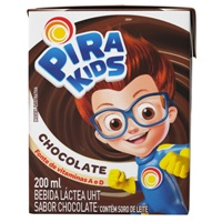 Achocolatado Pirakids Piracanjuba 200ml.