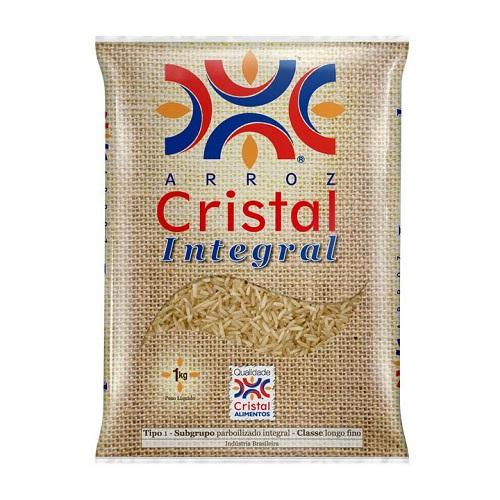 Arroz integral Cristal 1kg.